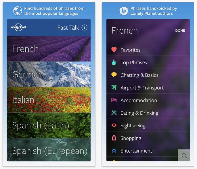 Aplicatii pentru smartphone-ideale pentru calatorii